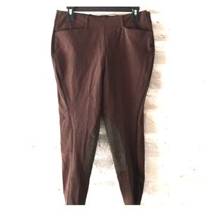 Ariat brown/black all circuit breeches